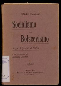 Socialismo e bolscevismo
