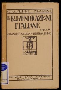Le rivendicazioni italiane nella grande guerra di liberazione