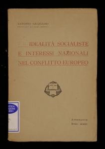 Idealità socialiste e interessi nazionali nel conflitto europeo