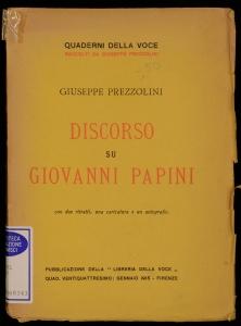 Discorso su Giovanni Papini