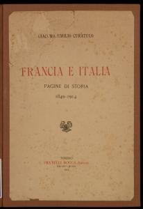 Francia e Italia