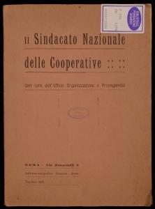 Il Sindacato nazionale delle cooperative