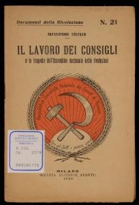 Il lavoro dei consigli e le tragedie dell'Assemblea nazionale nelle rivoluzioni