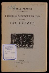 Il problema nazionale e politico della Dalmazia