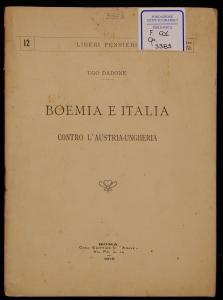 Boemia e Italia contro l'Austria-Ungheria