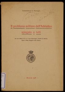 Il problema militare dell'Adriatico spiegato a tutti