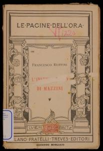 L'insegnamento di Mazzini