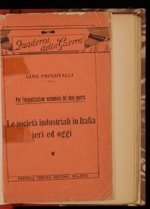 Le società industriali in Italia ieri e oggi