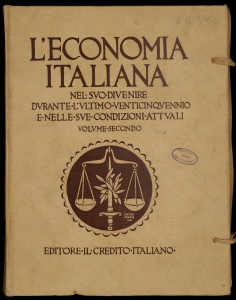 [L'economia italiana nel suo divenire durante l'ultimo venticinquennio e nelle sue condizioni attuali : 1895-1920] 2