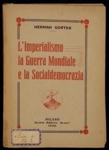 L'imperialismo, la guerra mondiale e la socialdemocrazia
