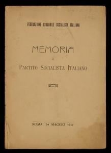 Memoria al Partito socialista italiano
