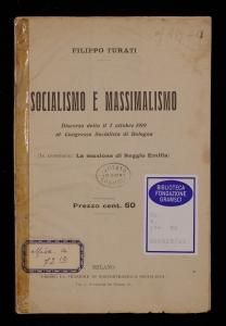 Socialismo e massimalismo