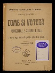 Come si voterà