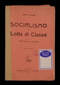 Socialismo e lotta di classe
