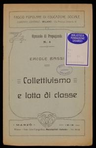 Collettivismo e lotta di classe