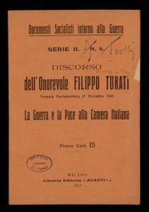 Discorso dell'onorevole Filippo Turati
