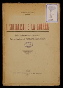 I socialisti e la guerra