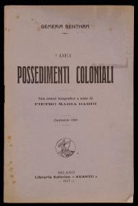Dei possedimenti coloniali