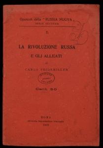 La rivoluzione russa e gli alleati