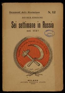 Sei settimane in Russia nel 1919