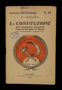 La Costituzione della Repubblica socialista federale dei Soviet di Russia in domande e risposte