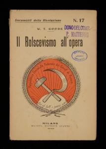 Il bolscevismo all'opera