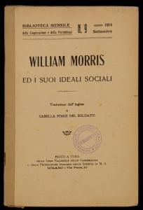 William Morris ed i suoi ideali sociali