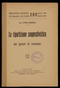 La ripartizione cooperativistica dei generi di consumo