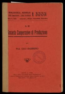 Le società cooperative di produzione