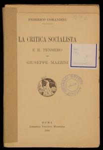 La critica socialista e il pensiero di Giuseppe Mazzini