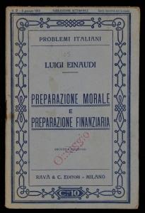 Preparazione morale e preparazione finanziaria