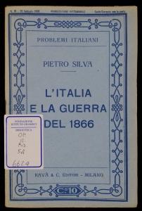 L'Italia e la guerra del 1866