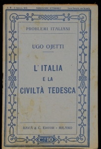 L'Italia e la civiltà tedesca