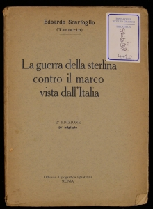 La guerra della sterlina contro il marco vista dall'Italia