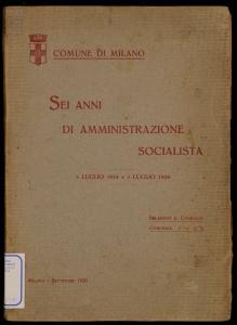 Sei anni di amministrazione socialista