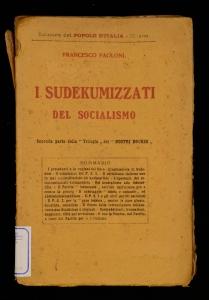 I sudekumizzati del socialismo
