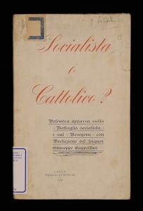 Socialista o cattolico?