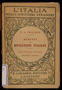 Scritti sulla rivoluzione italiana