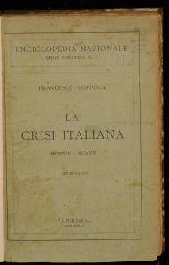 La crisi italiana