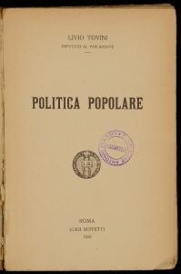 Politica popolare