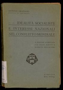 Idealità socialiste e interessi nazionali nel conflitto mondiale