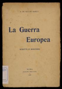 La guerra europea