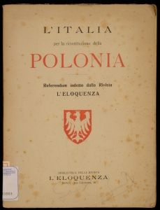 L'Italia per la ricostituzione della Polonia