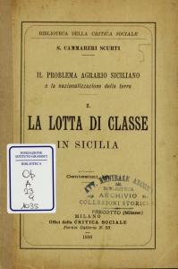 1: La lotta di classe in Sicilia