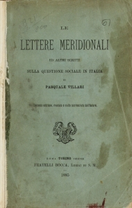 Le lettere meridionali ed altri scritti sulla questione sociale in Italia