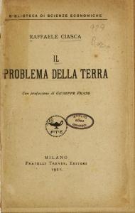 Il problema della terra