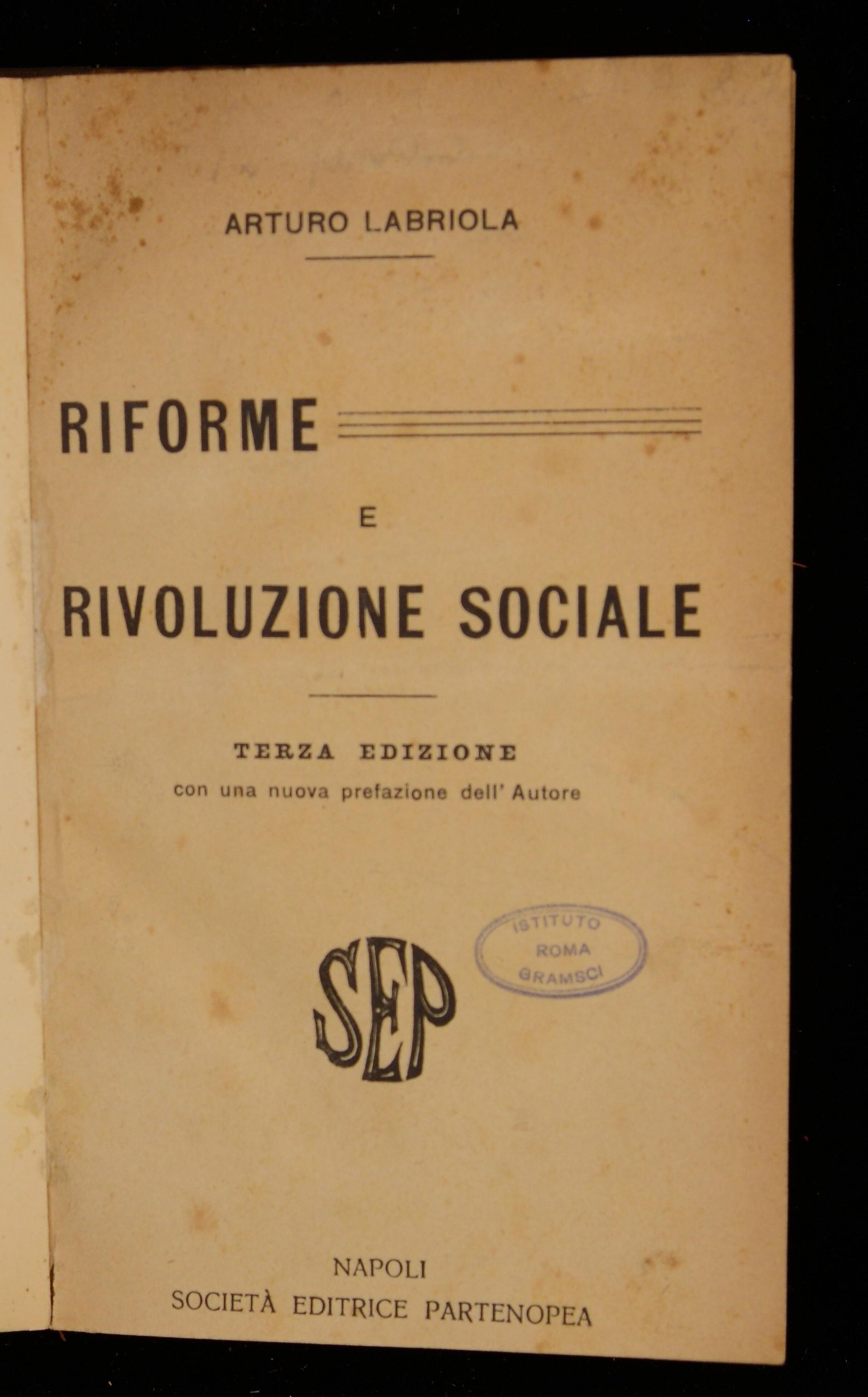 Riforme e rivoluzione sociale