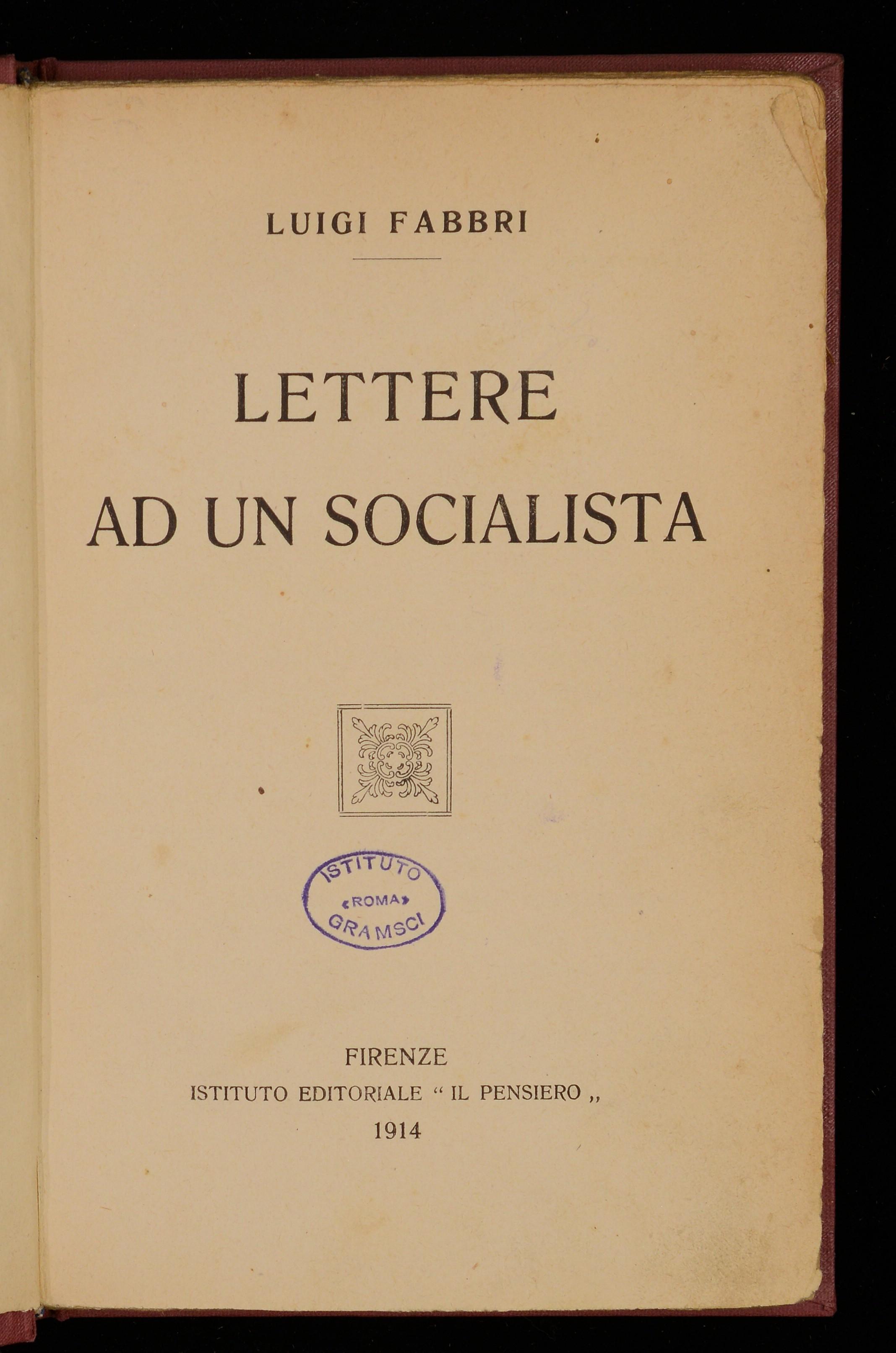 Lettere ad un socialista