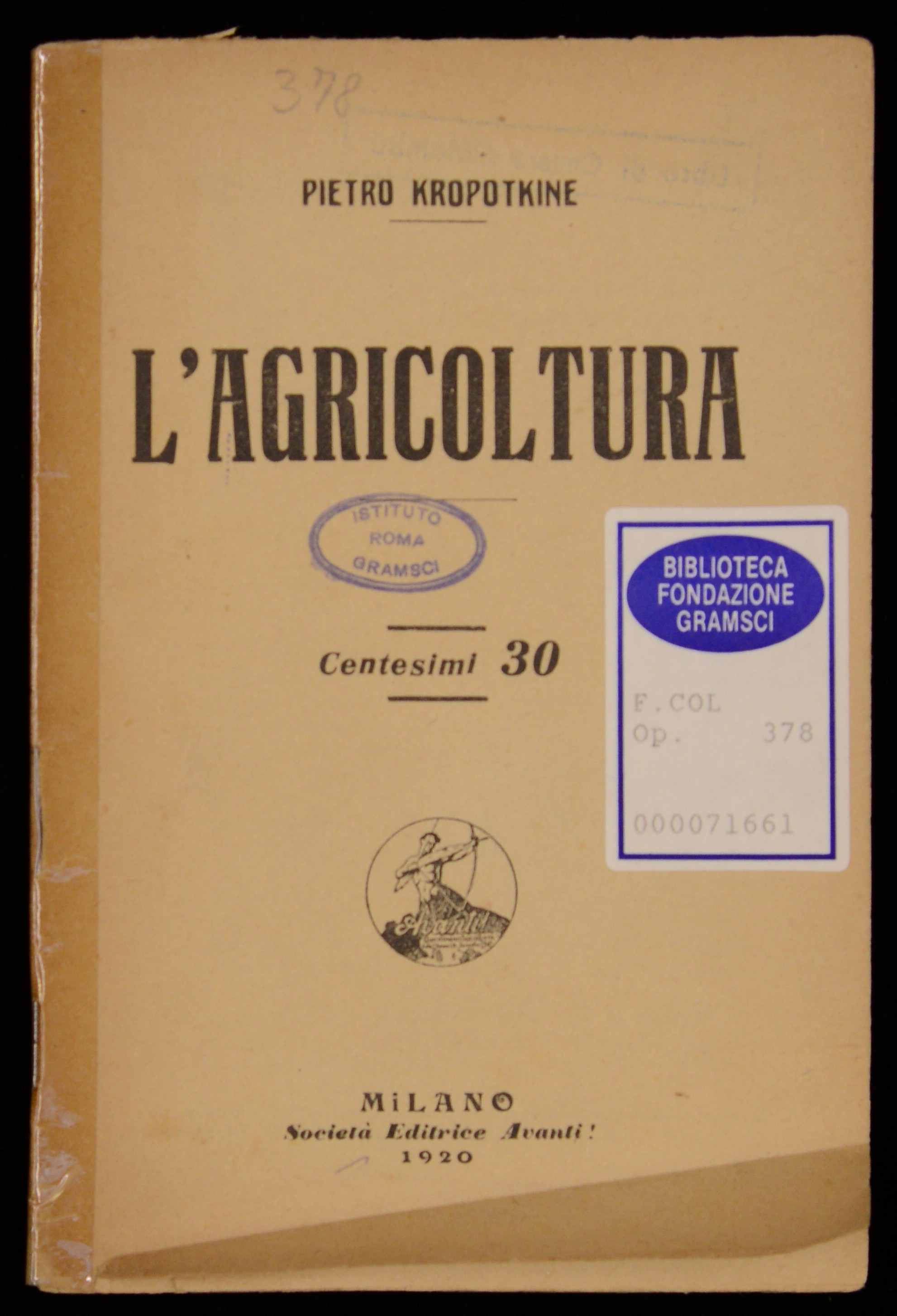 L'agricoltura