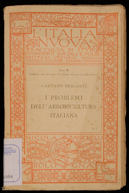 I problemi dell'arboricultura italiana